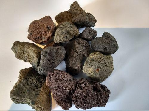 28579 lava brokken in verschillende kleuren 1