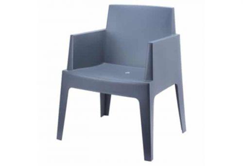 Box stoel antraciet 1