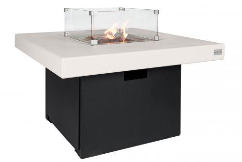 Vuurtafel Easy fires Milano vierkant 2