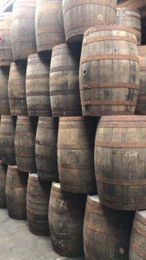 Eiken regentonnen (Whiskyvat) 1