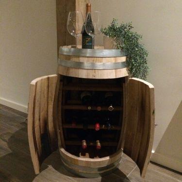 Wijnkast van wijnvat 4