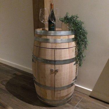 Wijnkast van wijnvat 5