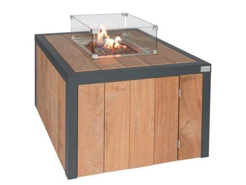 Vuurtafel Easy fires Box vierkant