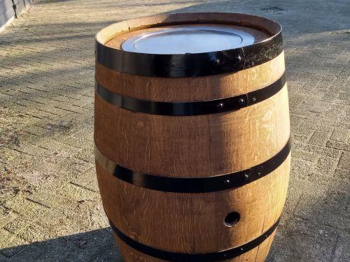 Gashaard Easy fires in wijnvat (onbewerkt)