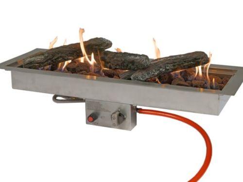 Inbouwbrander Easy fires rechthoek klein