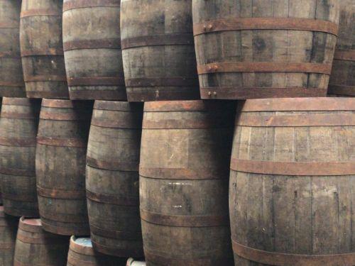 Eiken regentonnen (Whiskyvat)